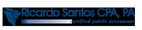 Ricardo Santos, CPA Logo